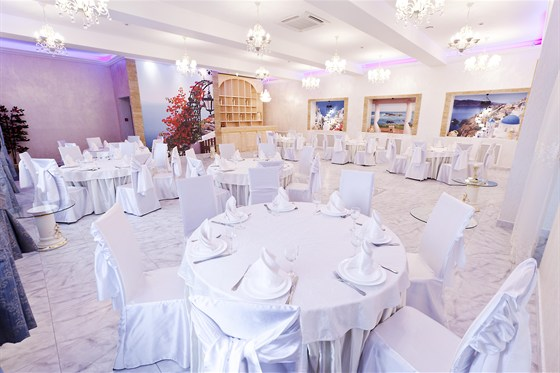 Ресторан Виноградник - фотография 7 - Белый зал