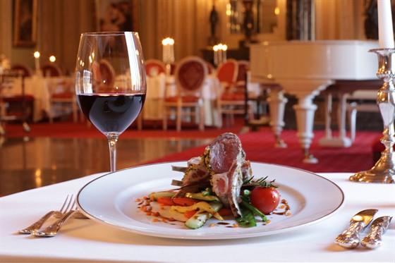 """Ресторан Талион - фотография 4 - Изысканный ужин в ресторане """"Талион"""""""
