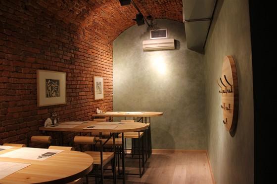 Ресторан Пельмения - фотография 13 - Интерьер. Малый зал.
