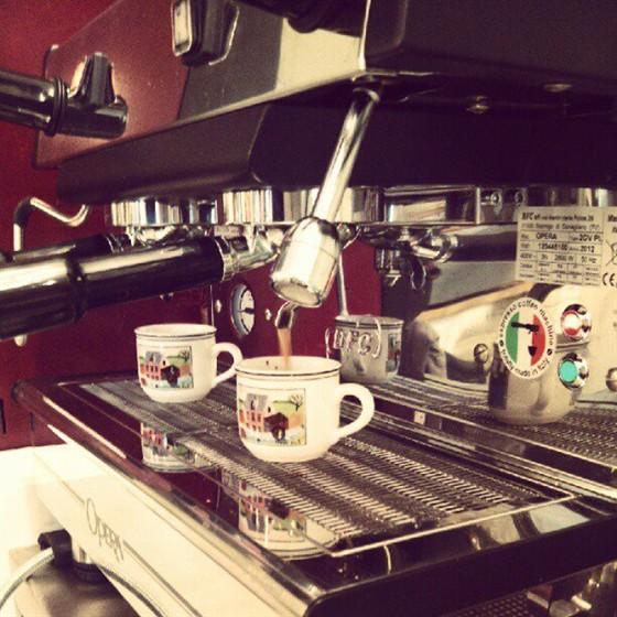 Ресторан Флей - фотография 13 - Итальянский кофе!