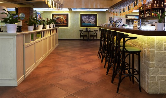 Ресторан Da Pino - фотография 9 - Бар.