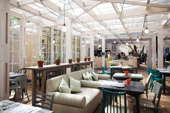 Ресторан Теплица в Нескучном саду - фотография 17