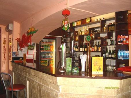 Ресторан Красное солнце - фотография 2 - Барная стойка