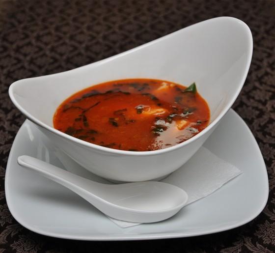 Ресторан Буффет - фотография 9 - Тосканский суп с морепродуктами.