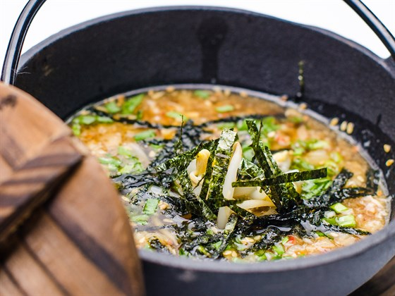 Ресторан Sushi House - фотография 16 - Шелковый суп Моримото