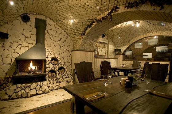 Ресторан Экспедиция. Северная кухня - фотография 11 - VIP зал на цокольном этаже.