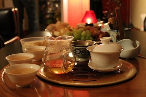Ресторан Колобок - фотография 8 - чайная церемония в Колобке