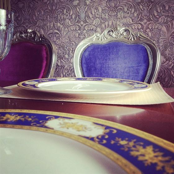 Ресторан Генацвале-сити - фотография 5 - Блюдечко в голубой каемочкой