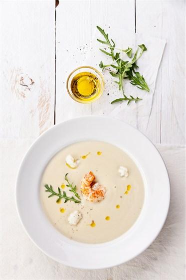 Ресторан Terrine - фотография 14 - Крем суп из цветной капусты