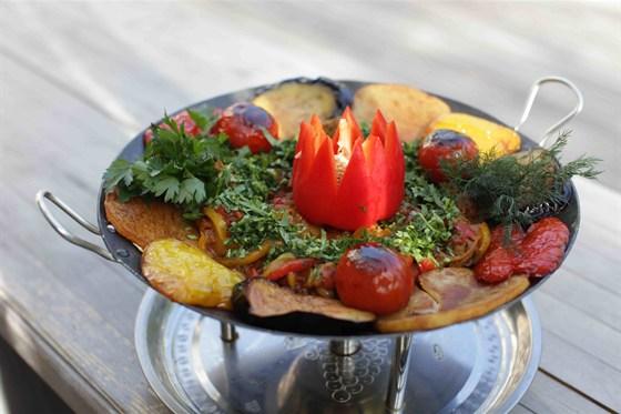 Ресторан Рыба на даче - фотография 42 - Овощи, приготовленные на гриле