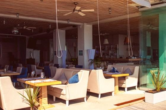 Ресторан Sanremo - фотография 16 - Дизайн и элементы интерьера.
