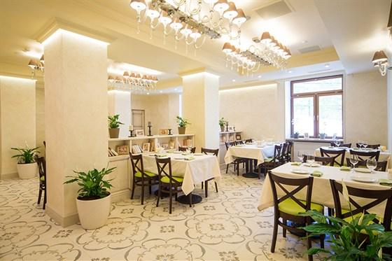 Ресторан Da Pino - фотография 4 - Банкетный зал.