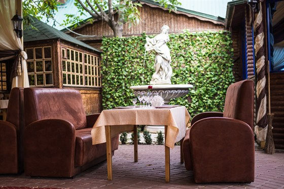 Ресторан Bellagio - фотография 5 - Летняя площадка