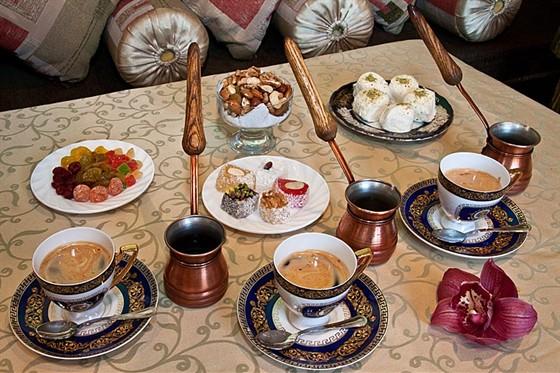 Ресторан Жажда вкуса - фотография 20 - Кофе по-восточному.