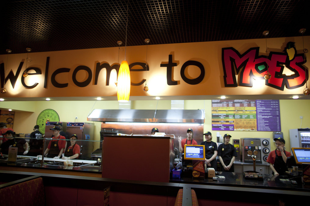 Ресторан Moe's - фотография 8