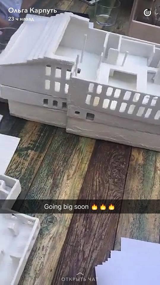 Фотография изSnapchat Ольги Карпуть, сделанная вавгусте прошлого года