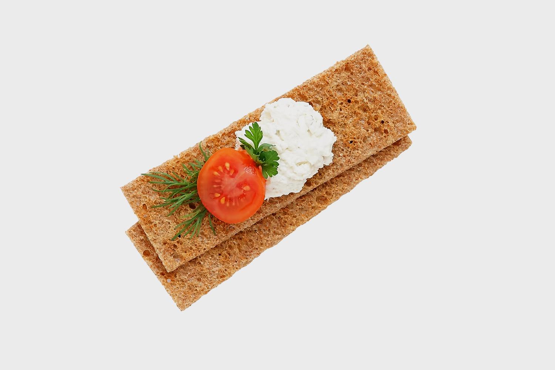 Тонкие ржаные хлебцы можно считать диетическими