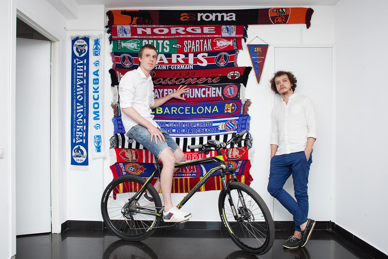 Основатели Dotsports: Павел Горбач и Михаил Гостев