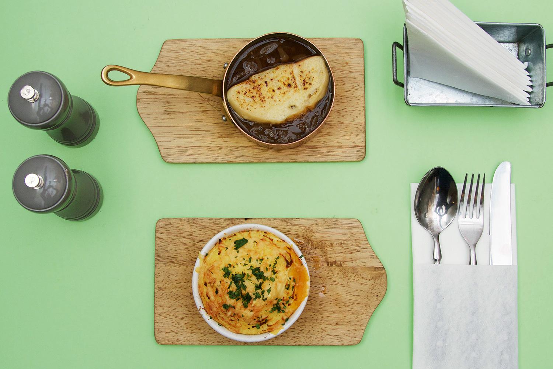 Луковый суп и пастушья запеканка, 350 р.
