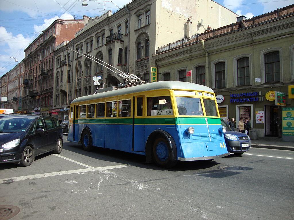 В столице России 1октября состоится пробег троллейбусов