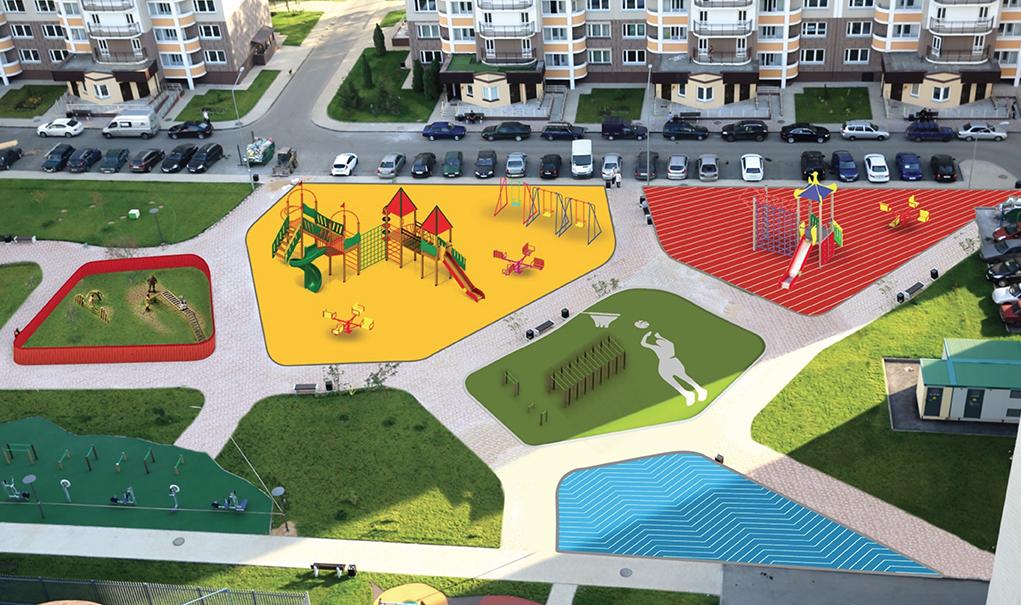 Брендбук Новой Москвы обыгрывает идею сочетания природной и городской среды