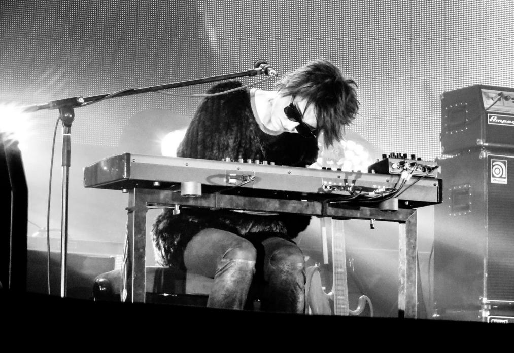 <p>Земфира на концерте в Самаре</p>