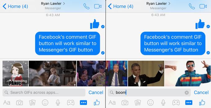 Вкомментариях фейсбук будет возможность использовать анимированные иллюстрации