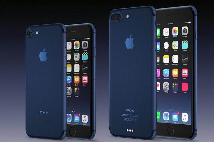 оттенокDeep Blue для iPhone 7 иiPhone 7+