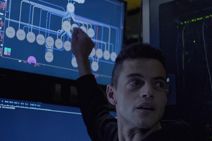 Кадр изфильма «Мистер Робот»