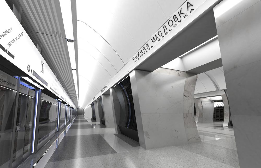 Проект станции «Нижняя Масловка»
