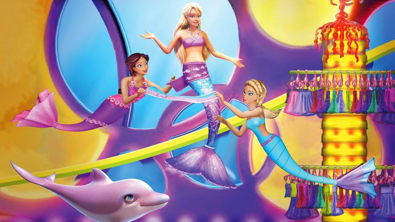 Барби в подводном мире смотреть фото