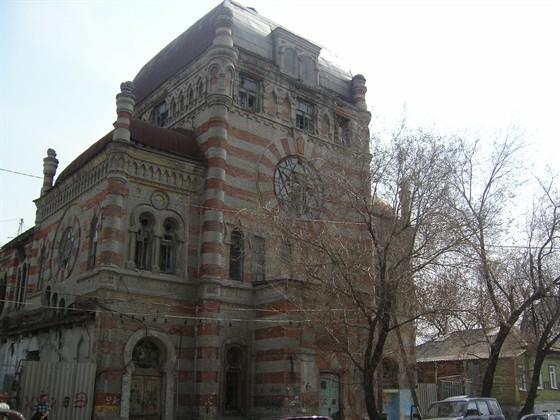Фото хоральная синагога