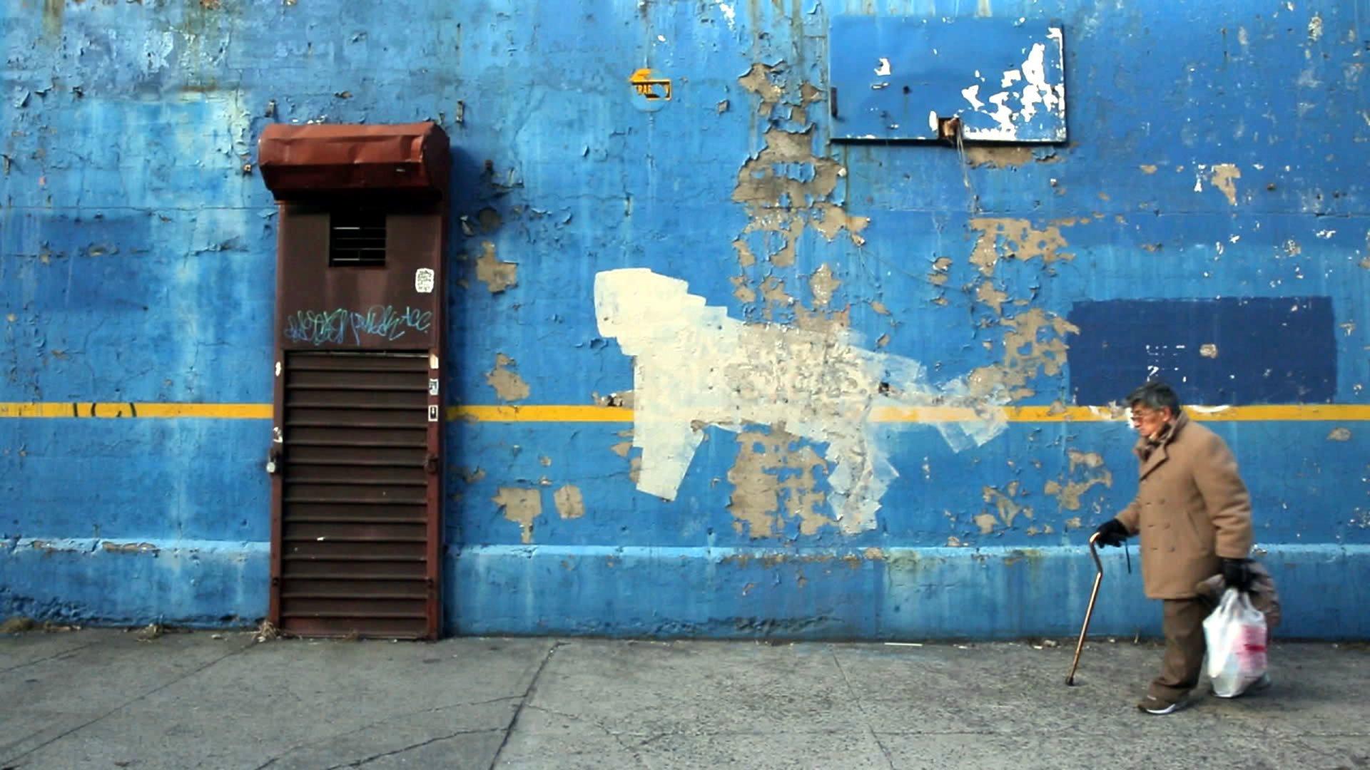 Бэнкси уделывает Нью-Йорк смотреть фото