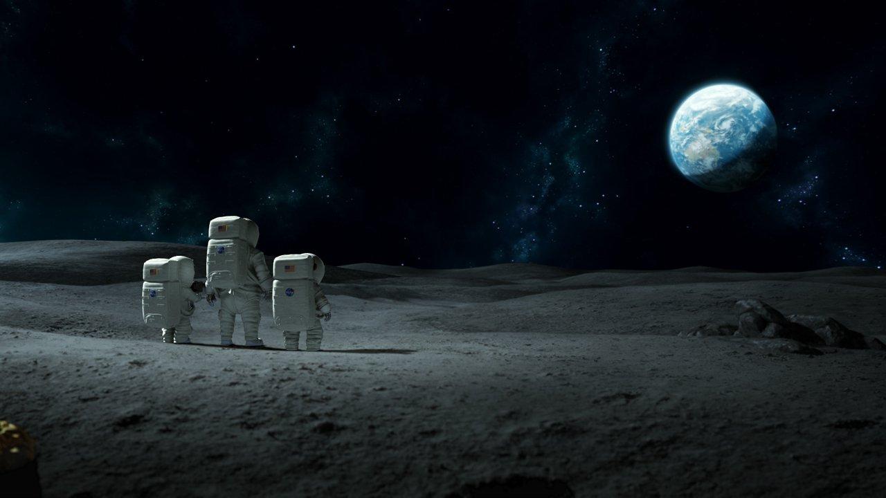 Лунный флаг смотреть фото