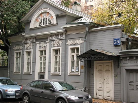 Фото выставочный зал ГосНИИ реставрации