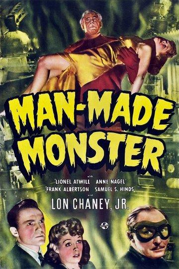 Постер Man Made Monster