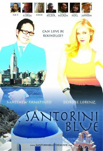 Постер Санторини