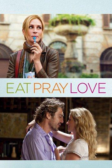 Постер Ешь, молись, люби