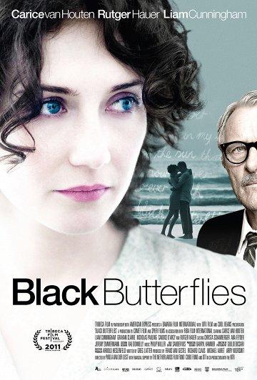 Постер Черные бабочки