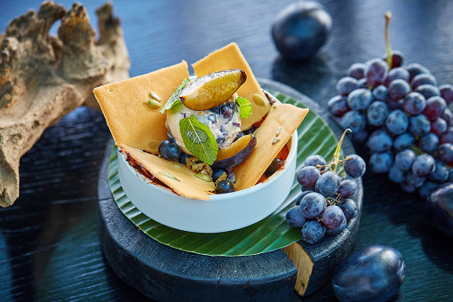 В панорамном ресторане Sixty наступила осень с авторскими блюдами от Режиса Тригеля