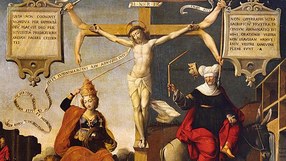 Картины Гарофало из монастыря Сан Бернардино в Ферраре
