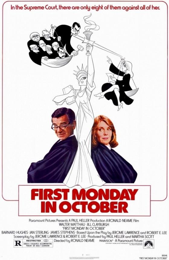 Первый понедельник октября (First Monday in October)