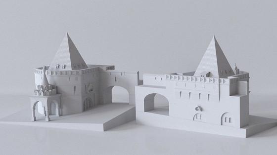 Утраченная Москва в 3D моделях