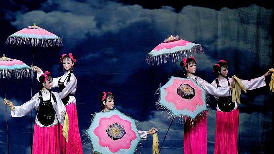 Шедевры кукольного искусства Китая