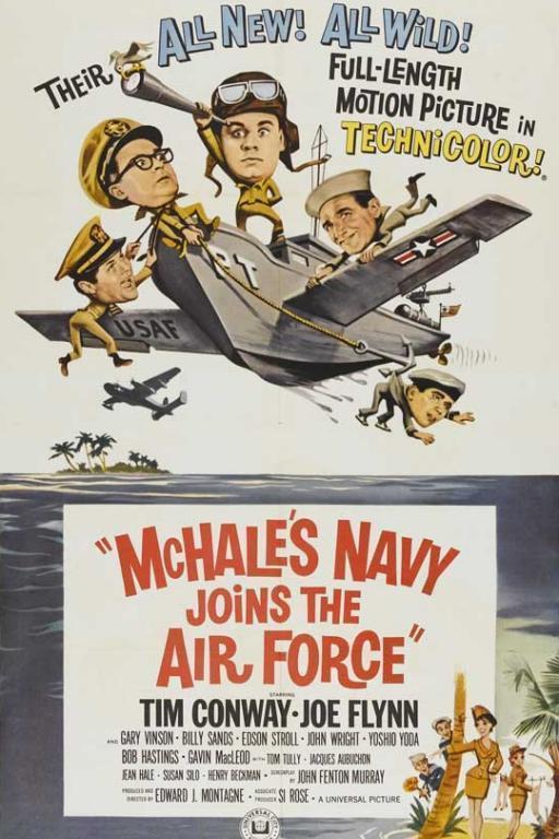 Флот Макхейли под облаками (McHale's Navy Joins the Air Force)