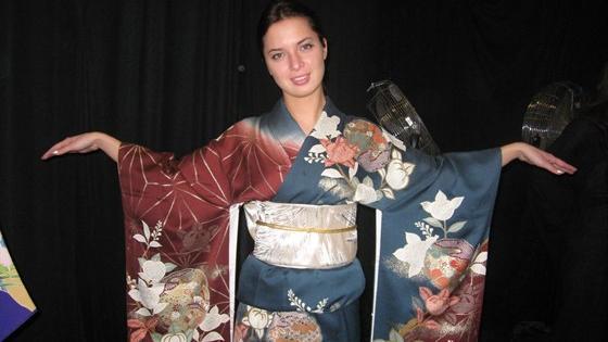 Кимоно. Три века японской моды