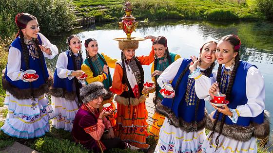 Концерт ансамбля народного танца им. Файзи Гаскарова