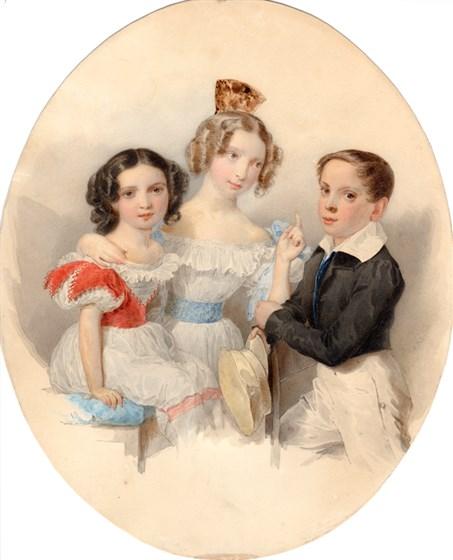 Русский фамильный портрет из частных коллекций. XVIII–XIX век