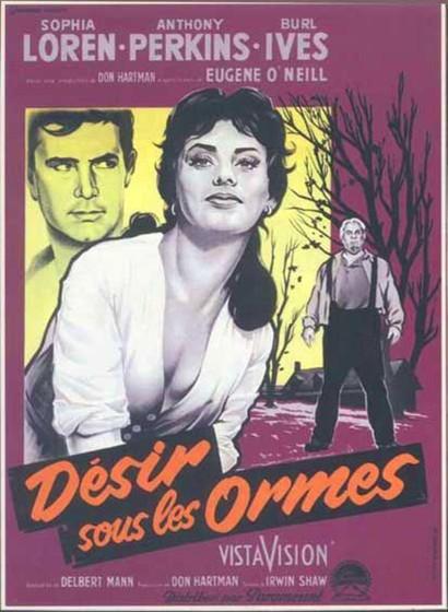 Любовь под вязами (Desire Under the Elms)