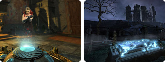 Замок с привидениями 3D (Haunted Castle)